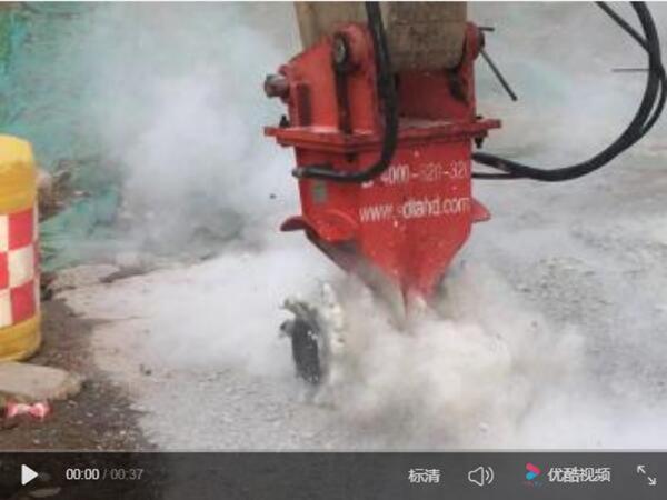 RW系列岩土铣挖机施工影像